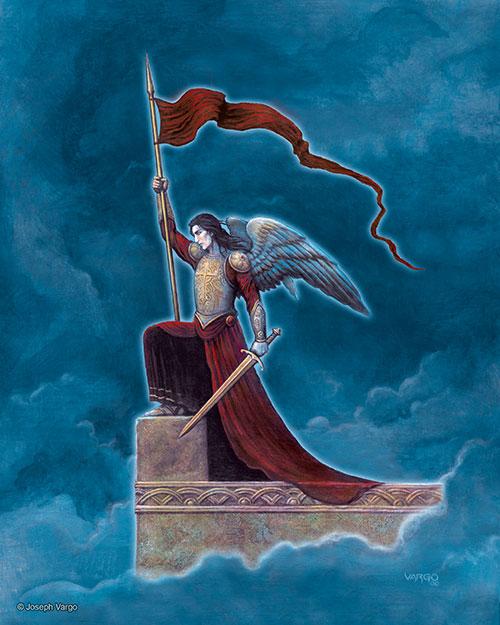 Dark Angels: Gothic Fantasy Artwork by Joseph Vargo