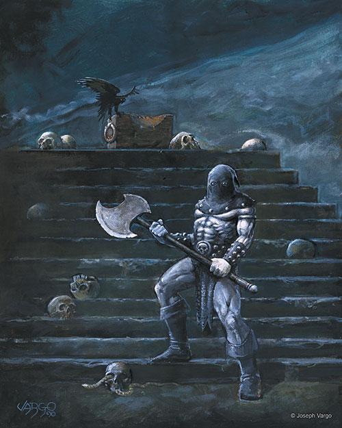 sword  u0026 sorcery  fantasy artwork by joseph vargo