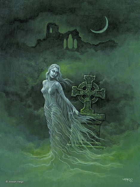 The Spirit Realm: Gothic Fantasy Artwork by Joseph Vargo