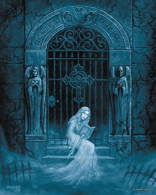 The Spirit Realm Gothic Fantasy Artwork By Joseph Vargo